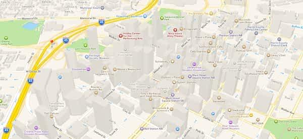 Google Maps Houston