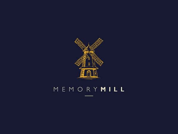 Memory Mill Media logo dark