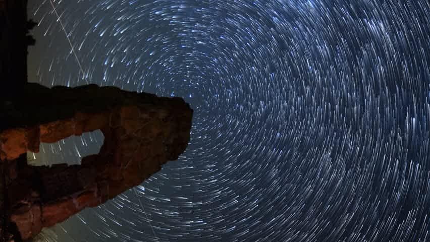 timelapse video astronomy